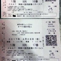 オペラ座の怪人チケット 9298
