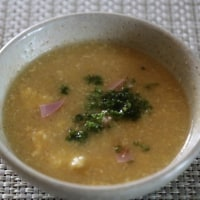 レシピ付き献立 肉団子のトマト煮・春雨とハムの甘酢和え・青梗菜に煮物・卵入りコーンスープ