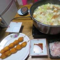 水炊きからの家食