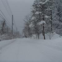 ドカ雪退散
