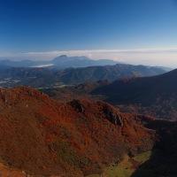 九重連山 三俣山 くじゅうの紅葉 お鉢めぐり 2014.10.25