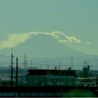 埼京線からの富士山