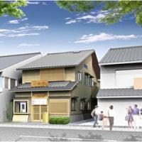 建築CGパース:和風商店建築