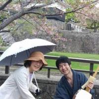 熊本市長さんや熊本市民の皆様に 五木の子守唄を聴いていただきました