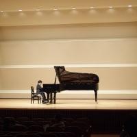 孫のピアノコンサート