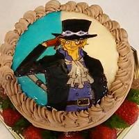 キャラクターケーキ(*^^*)ワンピース‼