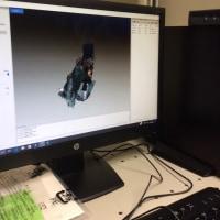 3Dスキャナを導入しました