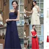 誰から見ても好印象の綺麗めドレス♡パールの小物とあわせると上品な雰囲気となります