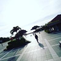 沖縄の日が沈む・・