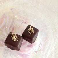 胡麻のチョコレート