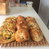 今日の手作りパンと酵母たち