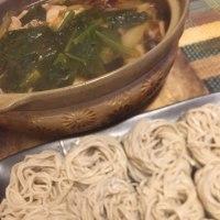 12月31日日 夕飯…肉汁そば