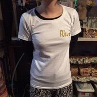 福知山スナックReve(レーブ)様の名入れTシャツを制作