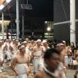 山口市内で女神輿開催中
