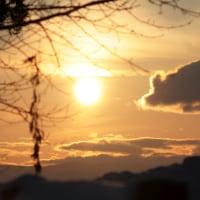 久しぶりに夕陽を撮った