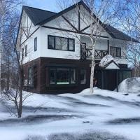 我が家も融雪剤散布