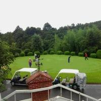 雨でもゴルフ