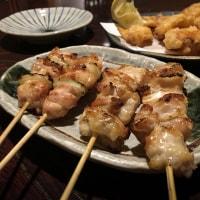 岩見沢「名炭亭」で焼き鳥などを食べました