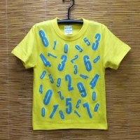 キッズ、ナンバーTシャツ
