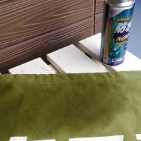 帆布でカバー作製 防水加工 ようやく終了です(-_-;)