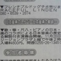 新聞に掲載!!