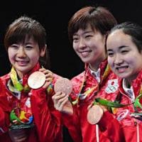 【リオ五輪】大和撫子がリオで躍動!卓球女子団体は涙の銅メダル! シンクロも2大会ぶりのメダル!