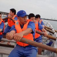 カッター訓練2(そして漁業就業フェア)