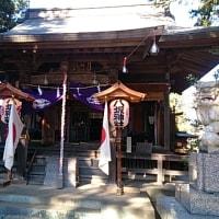 「神社の灯籠番が廻ってきた」