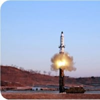 ◯【北朝鮮 弾道ミサイル】・・・・・・世界一の航空母艦2隻で囲みながら何も出来ない反対唱えるだけの模造国連参加国