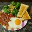 朝食はパンのことが多いです^0^