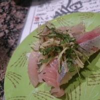 きょうは回るお寿司