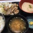 葱塩豚定食 with 単品トロロ@Y野家