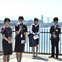 エア ホンコン cargo   エアバス  A 300-600.  B-LDH  の着陸シーン