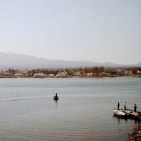 囲碁と河口湖富士山1