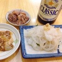 ローカル魚でとれたてごはん…函館朝市『茶夢』の、イカ刺しなどイカ料理あれこれ