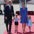 キャサリン妃はブルーで、ロイヤルツアーはドイツへ、今度はジョージ王子とシャーロット王女が