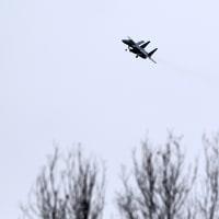 千歳航空自衛隊C1輸送機・F15戦闘機