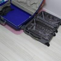旅行から帰ったらすぐスーツケースを☆
