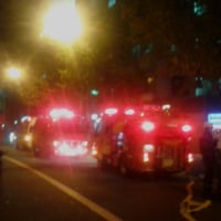 先ほどJR新今宮駅の北側の15階建てマンションでボヤ?浪速区は物騒すぎます。