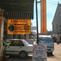 セムリアップ(カンボジア)のインターネットカフェー・2015年7月9日(木)
