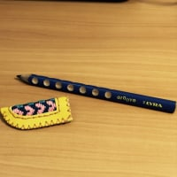 一本の鉛筆✏️