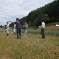 第2回被災農地等の土づくり推進プロジェクト現地調査を開催しました