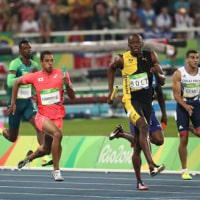 日本男子 400メートル リレー 銀 !!