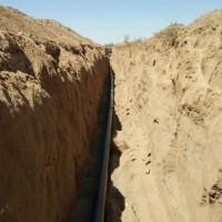 センター灌漑工事