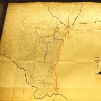 ミュージアム巡り 高度成長の時代 東京都市計画高速道路網図