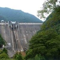下久保ダムの点検放流とサッカー観戦