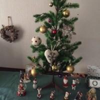 一歩一歩クリスマスバージョンに!