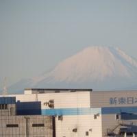 富士山がはっきり🗻見えました。