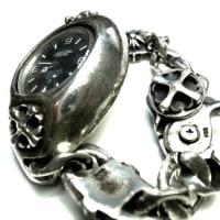 クロムハーツの時計ブレスの金具を修理しました。