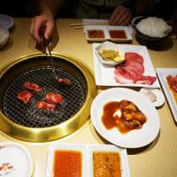 焼肉とイルミネーション